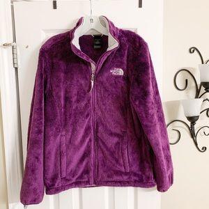 Northface Fuzzy Purple Jacket